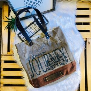 "Mona B ""All About the Journey"" Travel Tote"